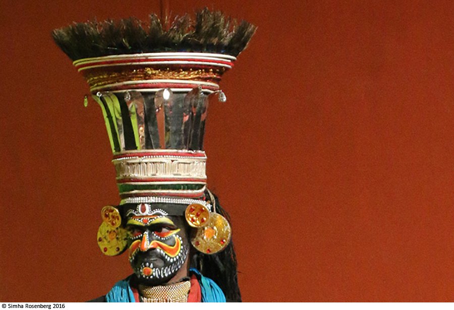 Villain in the Kathakali dance symbolizes nonprofit marketing research on personae non gratae.