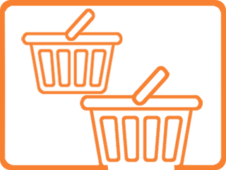 two-basket-icon-orange