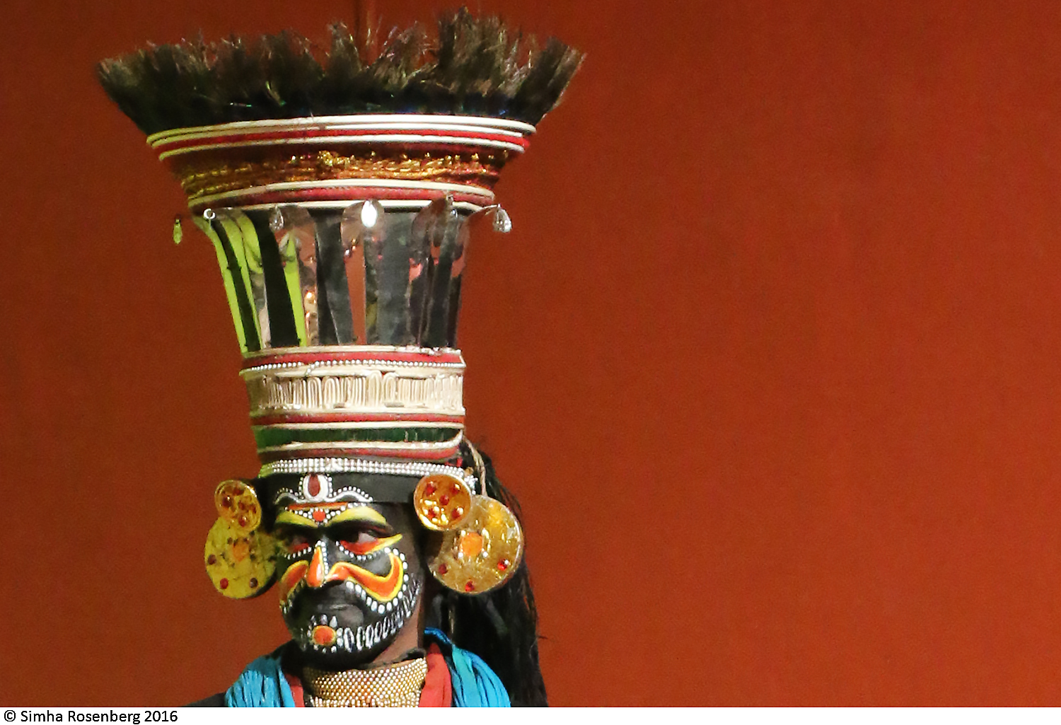 Villain in the Kathakali dance symbolizes nonprofit marketing research on personae non gratae.